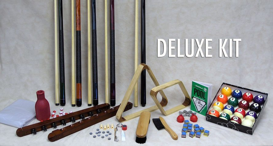 Deluxe Kit Dallas Pool Table