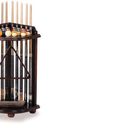 corner rack for billiard table