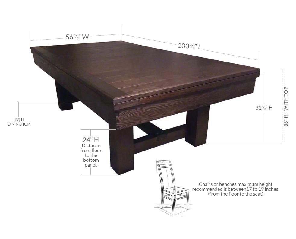 Astonishing Dining Top Dark Chestnut Gmtry Best Dining Table And Chair Ideas Images Gmtryco